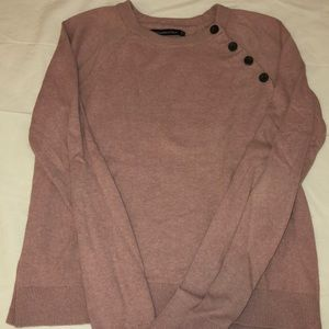 Pink Abercrombie & Fitch sweater
